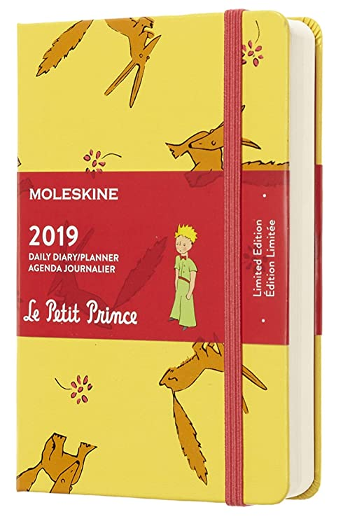 Moleskine Limited Edition Petit Prince 12 Month 2019 Daily Planner, Hard Cover, Pocket (3.5