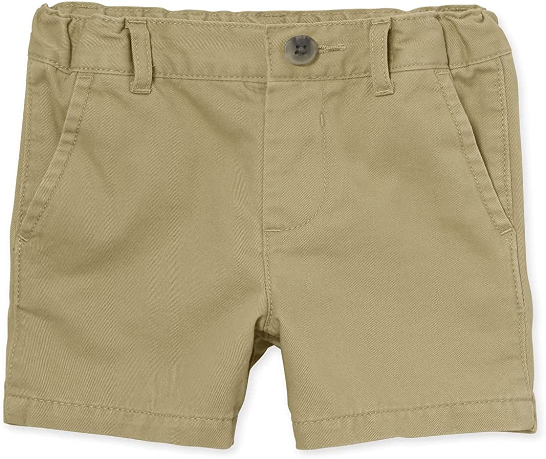 The Children's Place Baby Boys' Toddler Uniform Chino Shorts: Clothing