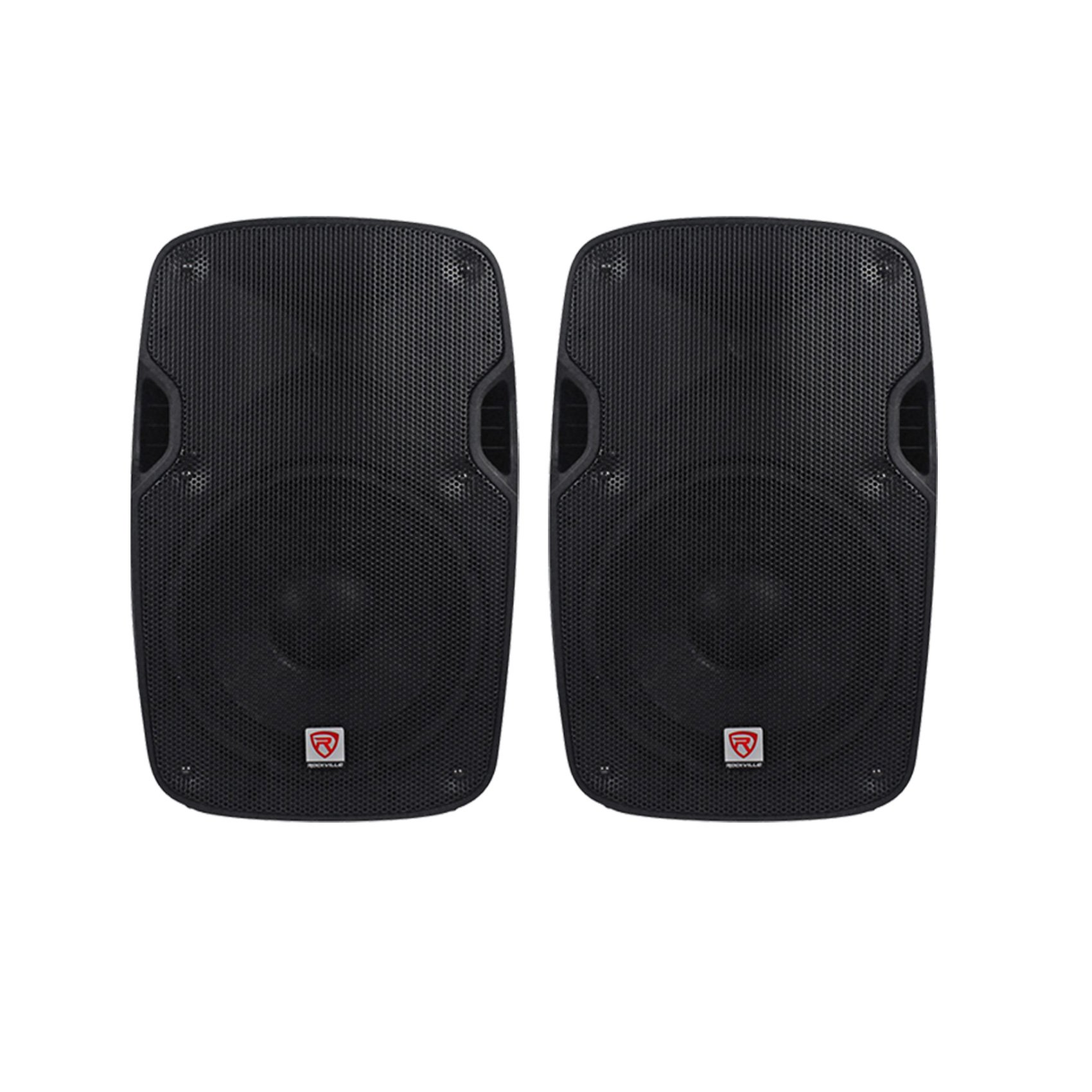 (2) Rockville SPGN158 15'' Passive 8-Ohm Lightweight DJ/PA Speakers Totaling 3200 Watt Peak With 3'' Aluminum Voice Coil For Amazing Sound Clarity