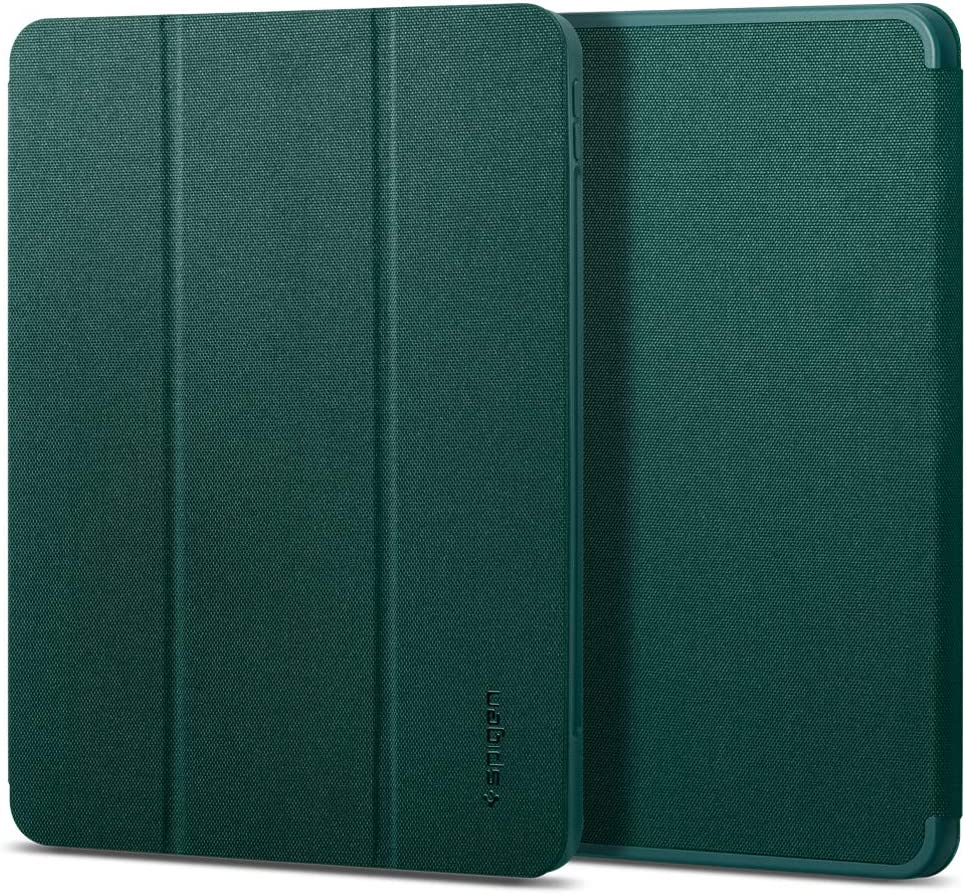 Spigen Urban Fit Designed for iPad Pro 11 Case 2020 & 2018 with Pencil Holder - Midnight Green
