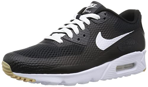 15b19df6b0 NIKE Men's Air Max 90 Ultra Essential Fitness Shoes, White-Black, ...
