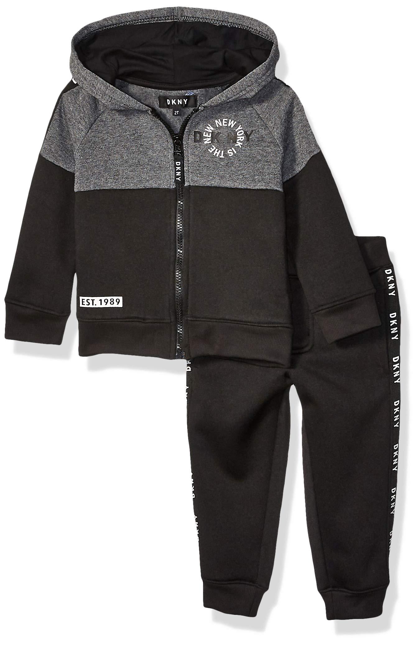 DKNY Boys' New York Fleece Hoody and Jog Pant