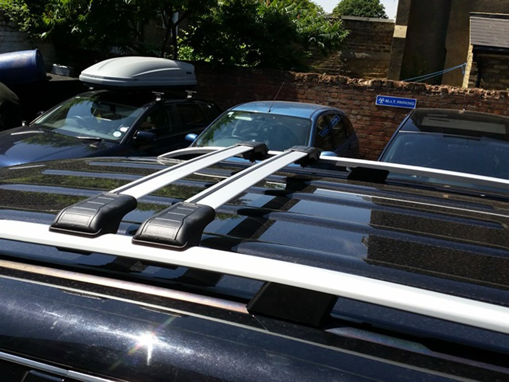 FIAT FIORINO CITROEN NEMO PEUGEOT BIPPER ROOF RAIL BARS AND LOCKABLE CROSS BARS SET 2008 ONWARD 75 KG
