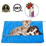 MARUNDA Pet Heating Pad,Cat Dog Electric Pet Heating Pad Indoor Waterproof,Auto Constant Temperature, Chew Resistant…