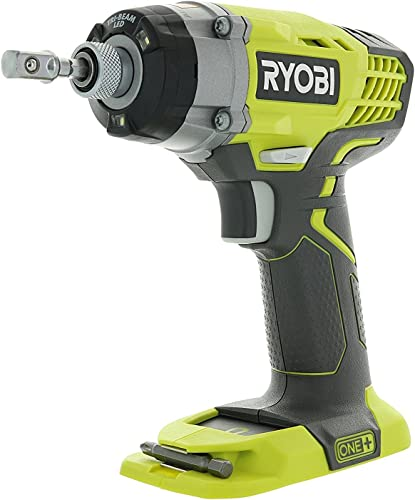 Ryobi One P236 18V 1 4 Inch 3,200 RPM 1,600 Inch Pounds Lithium Ion Cordless Impact Driver Battery Not Included