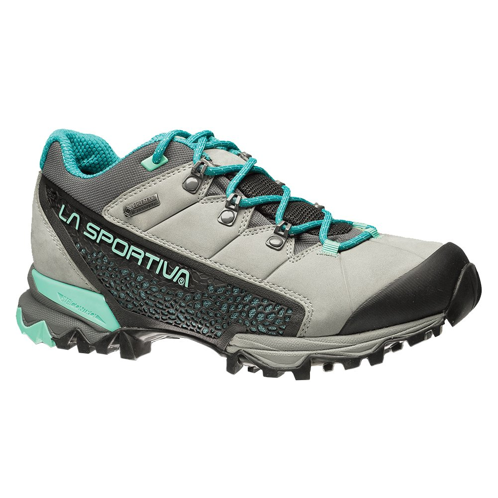 La Sportiva Women's Genesis Low GTX Hiking Shoe B01K7VOBLK 39.5 M EU|Grey/Mint