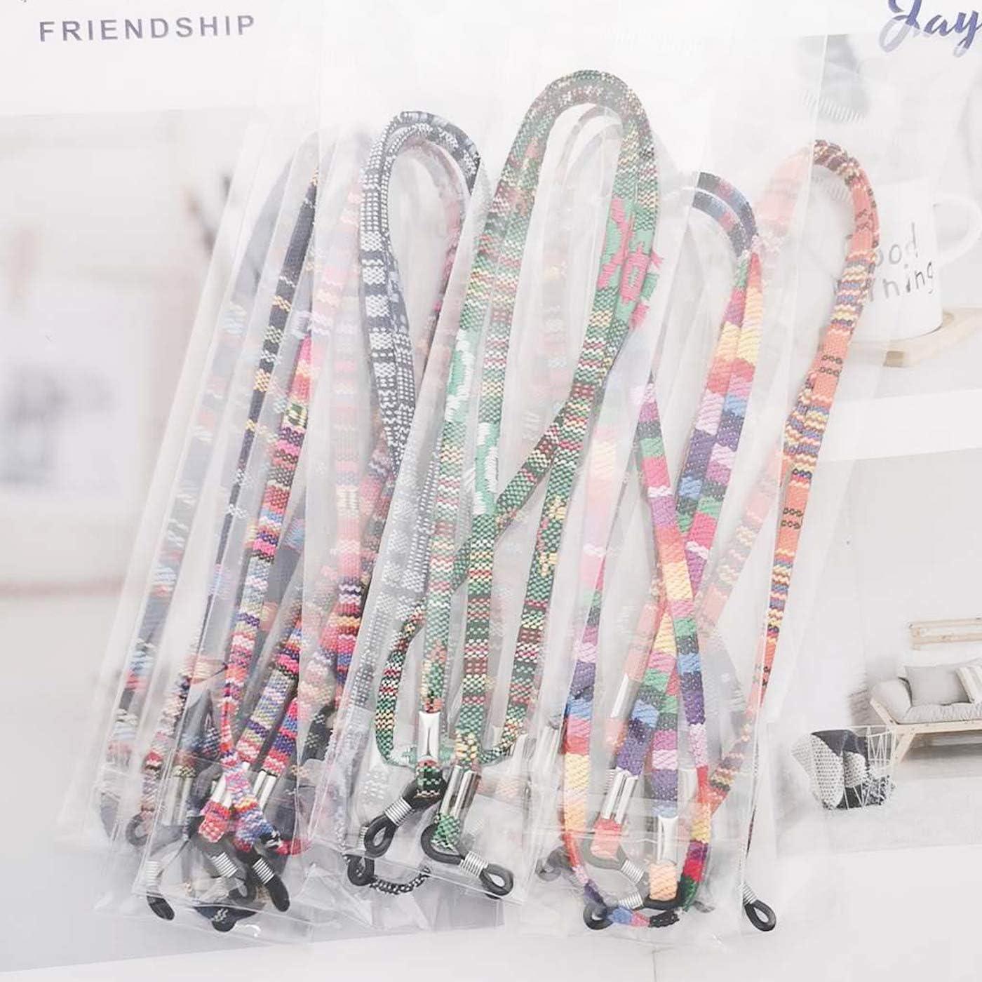 Colorful Markeny 12Pcs Glasses Strap Eyewear Retainer Sunglass Straps Safety Neck Holder Lanyard for Kids Women and Men