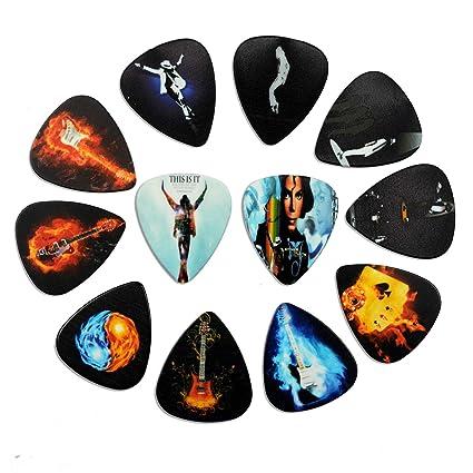 Púas de guitarra ACCOCOCO 12 paquetes de púas de guitarra de calibre medio Guitarra de regalo