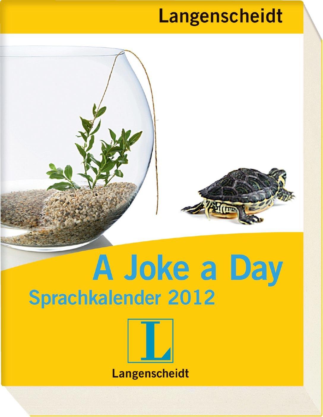 Langenscheidt Sprachkalender A Joke a day 2012 - Abreißkalender