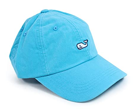 c635edc4c7d New Vineyard Vines Whale Logo Baseball Hat Aqua Blue Hat at Amazon Men s  Clothing store  Novelty Baseball Caps