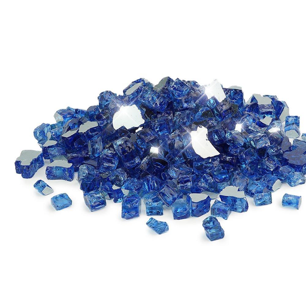 Starfire Glass 20-Pound 1/2 Inch Cobalt Blue Reflective
