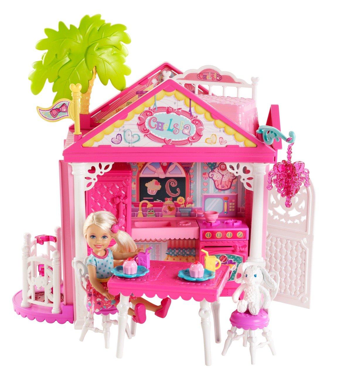 Nuevos productos de artículos novedosos. Barato Mattel BDG50 casa de muñecas - - - casas de muñecas Multi  tienda