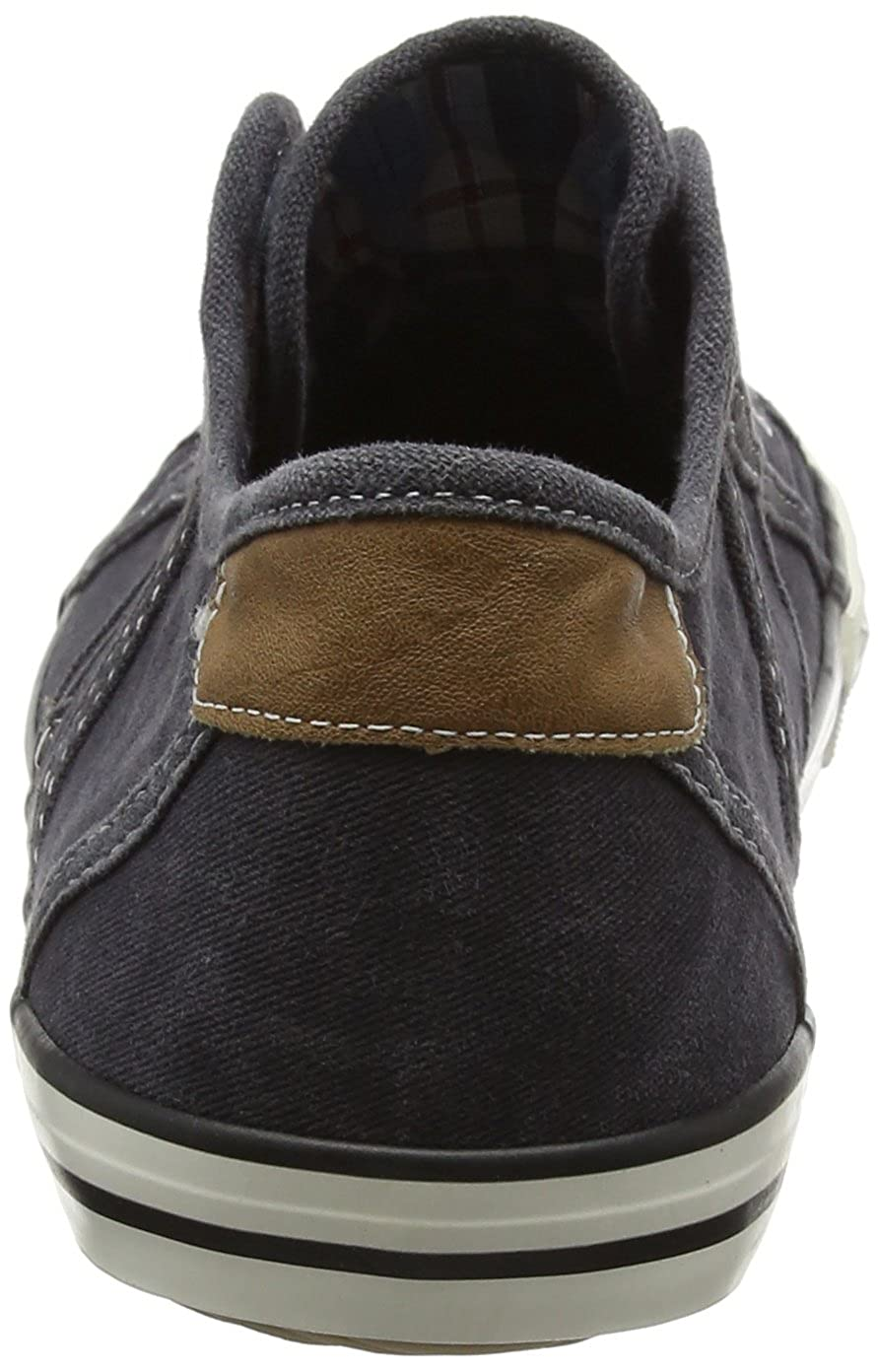 Mustang Laceless Low Top Womens Slip On