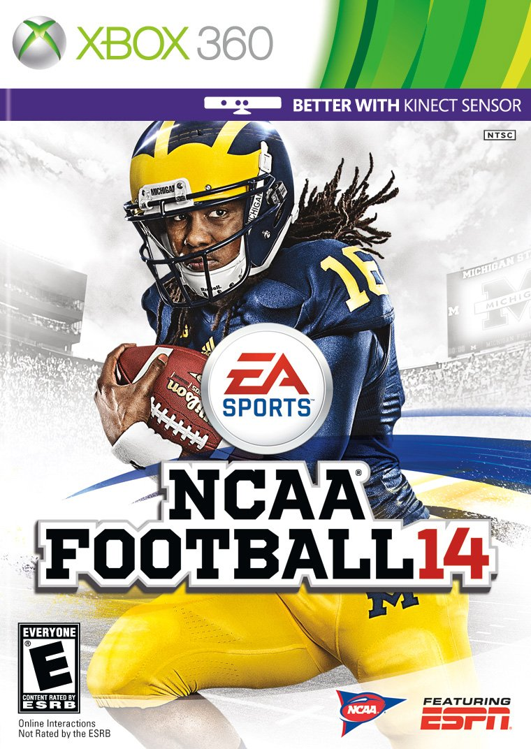 NCAA Football 14 - Xbox 360 by EA Sports. (Image #1)