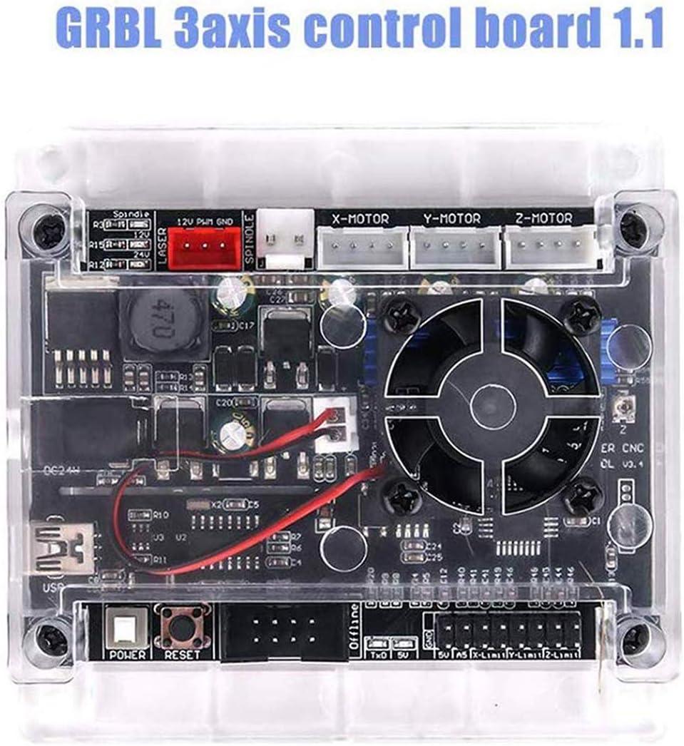 QPX GRBL Tablero de Control triaxial + GRBL Controlador de Trabajo Fuera de línea: Amazon.es: Electrónica