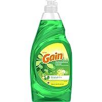 Gain Gain Detergente Líquido Para Platos 709 Ml, Pack of 1
