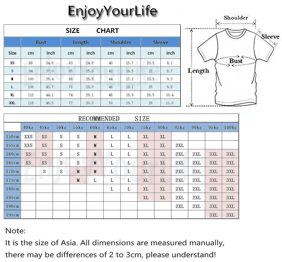 EnjoyYourLife Unisex KPOP 6ix9ine T-Shirt 6ix9ine Fans Maglietta Hip Pop Top T Shirt