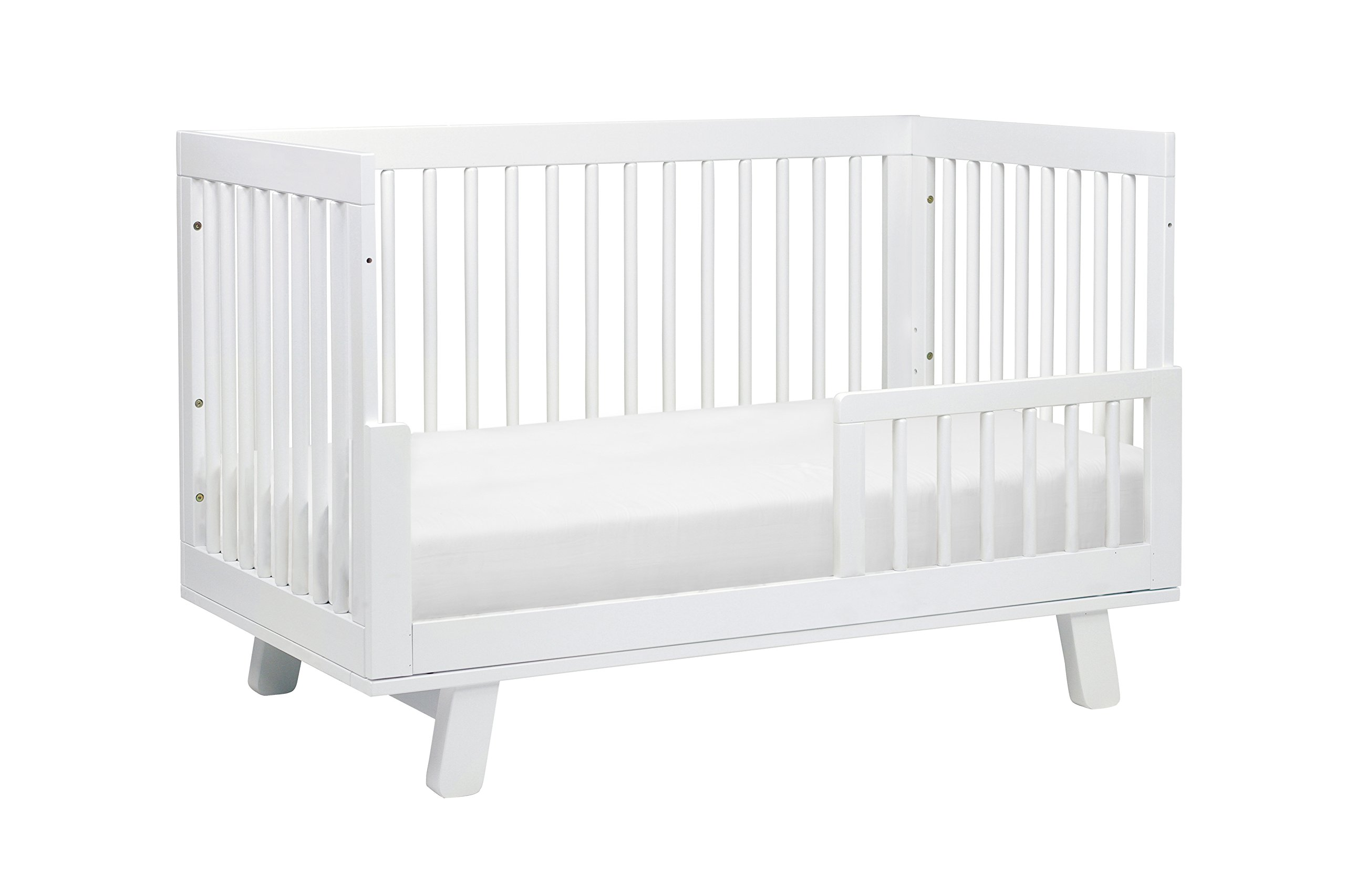 Babyletto Hudson 3-in-1 Convertible Crib with Toddler Bed Conversion Kit, White by babyletto (Image #6)