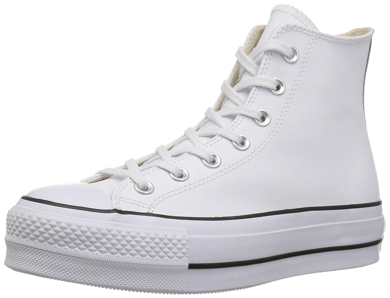 Converse Women's Chuck Taylor All Star Lift Clean High Top Sneaker B07BT6ZQGC 5.5 B(M) US,Black/Black/White