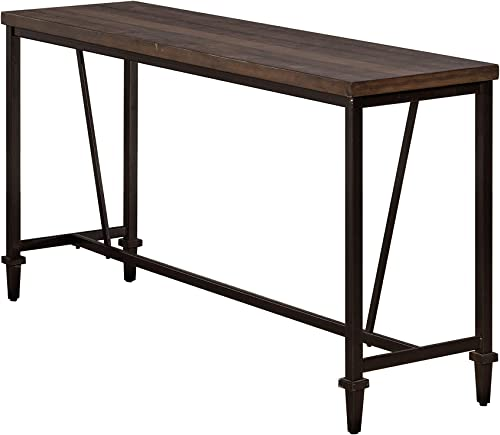 Hillsdale Furniture Hillsdale Trevino Sofa Console Table, Brown