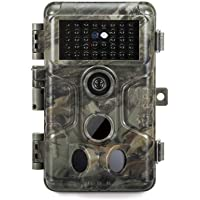 GardePro A3 Trail Camera (2020), 20MP, 1080P H.264 HD Video, Clear 100ft No Glow Infrared Night Vision, 0.1s Trigger…