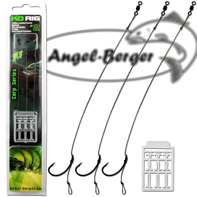 Angel Berger KD Rig Boilierig 3 pcs Boilievorfach Angel-Berger