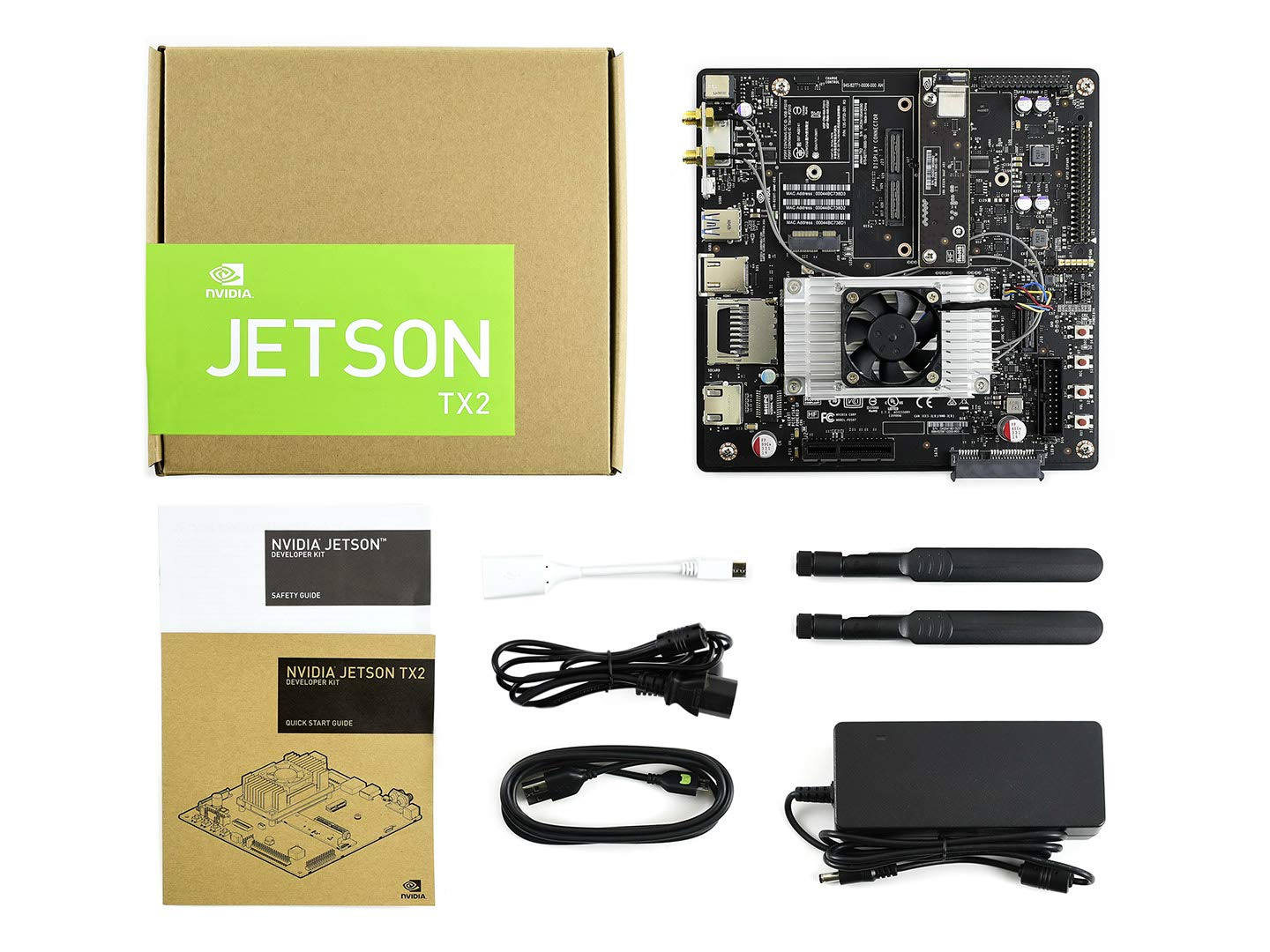 Waveshare NVIDIA Jetson TX2 Developer Kit AI Supercomputer