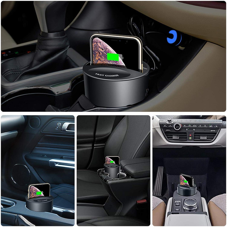 adatto per la ricarica wireless per auto veloce come iPhone 12 Pro Max supporto per telefono per auto Samsung Lultimo caricatore per auto wireless magnetico Huawei
