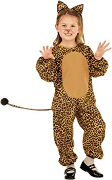 NET TOYS Disfraz Infantil Leopardo - 105 - 110 cm, 3 - 4 años ...