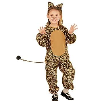 NET TOYS Disfraz Infantil Leopardo - 105 - 110 cm, 3 - 4 ...
