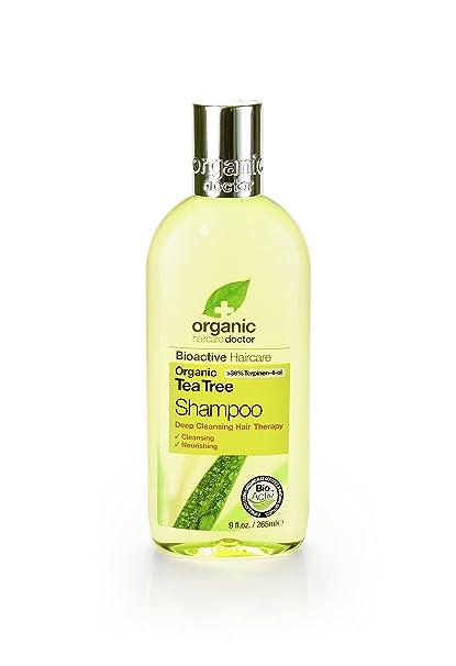Dr Organic Champú Árbol De Tè 265 ml
