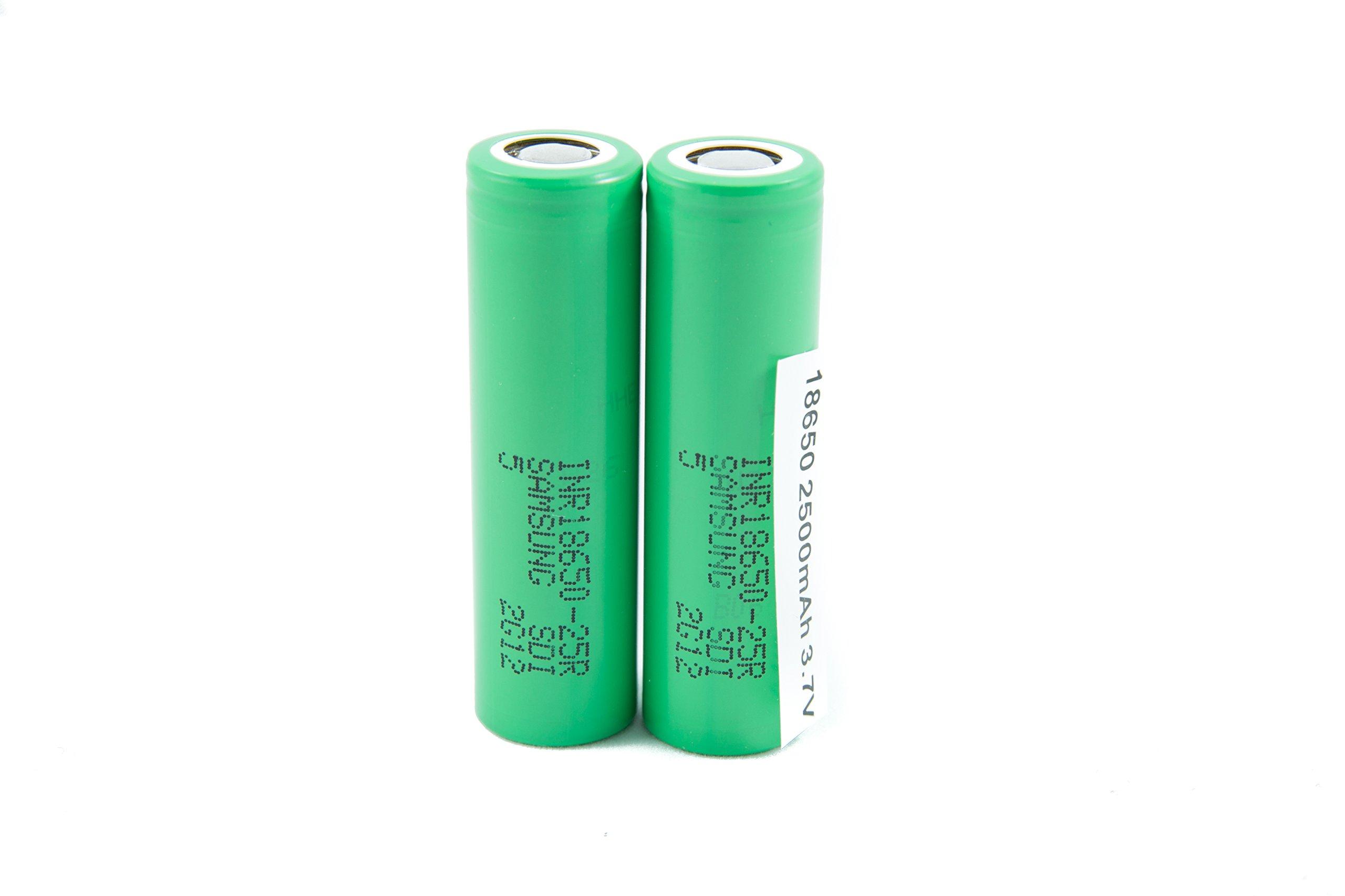 2pcs Samsung INR18650-25R 18650 2500mAh 3.7v Li-ion 20A discharge Authentic Grade-A Guarantee by CTINAW HOBBY (Image #7)