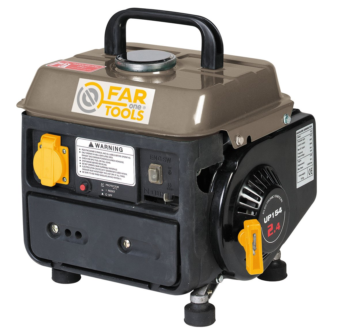Fartools One GGB 950 Generator, 700 W, 220 V, 50 Hz