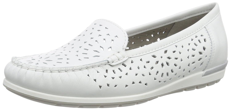 Weiß (Weißs Silber 05) ARA Damen Monterey Mokassin