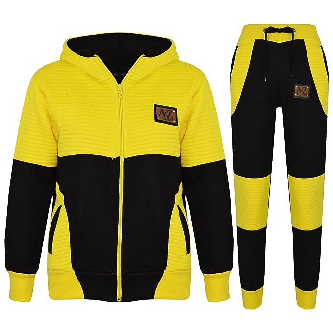 great prices fashion styles many fashionable Amazon.com: Boys Girls Jogging Suit Kids Designer Black ...