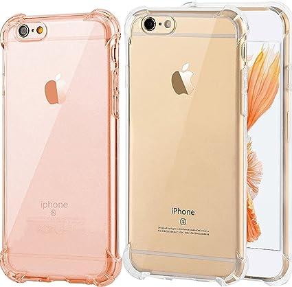 iPhone 6 Plus Funda, iPhone 6S Plus Caso, ibarbe 3 Pack Clara TPU ...