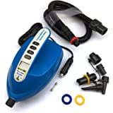 Seamax SUP Electric Air Pump for Inflatable Paddle Board, Max 20 PSI, Additional Fittings Included, Pro Edition Built in…