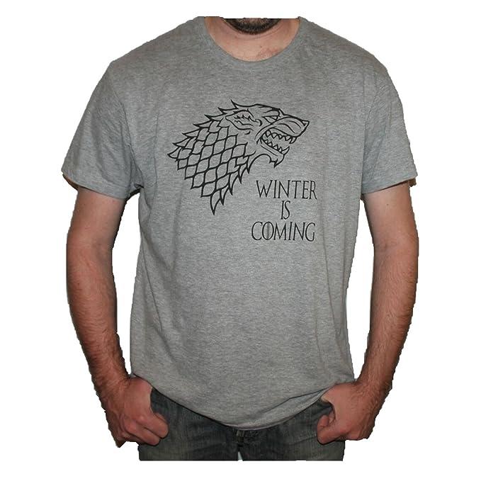 TINCURI Camiseta Juego DE Tronos CASA Stark Winter IS Coming: Amazon.es: Ropa y accesorios