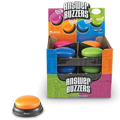 Learning Resources Answer Buzzers Classpack, Classroom Tool: Office Products