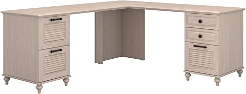 Bush Furniture kathy ireland Home Volcano Dusk L Shaped Desk