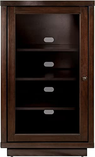 Bell O Audio Video Component Cabinet, Dark Espresso