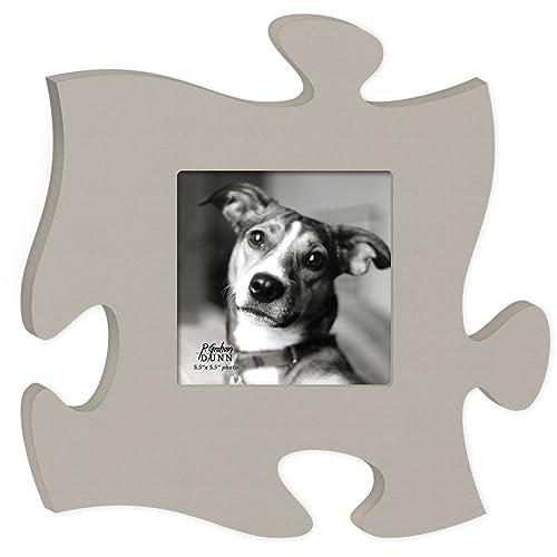 Puzzle Piece Picture Frame: Amazon.com
