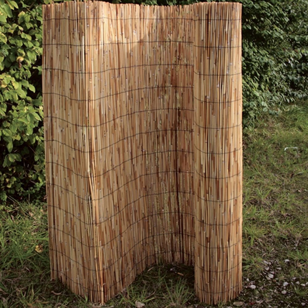 Brema Schilfrohrmatte 100 X 600 cm Amazon Garten