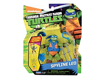 Teenage Mutant Ninja Turtles spyline Leonardo Tortugas y ...