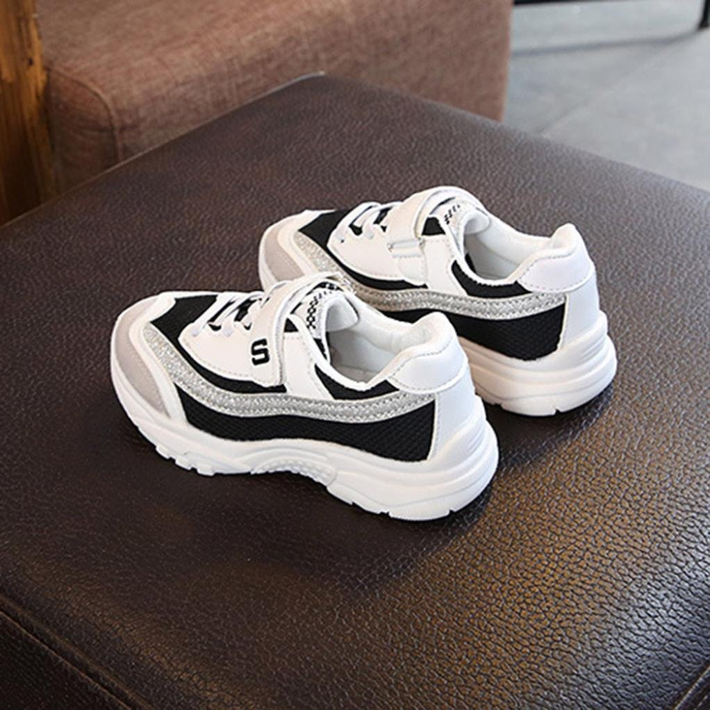 Voberry@@@@@@@@@@@@@@@@@@@@@@@@@@@@ Toddler Kids Water Shoes Breathable Slip-on Sneakers for Running Sports Pool Beach