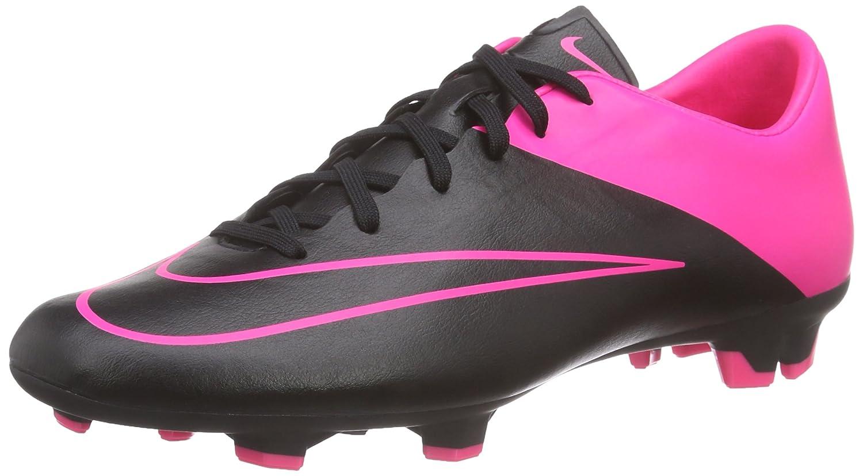 NIKE Mercurial Victory V FG, Herren Fußballschuhe, Mehrfarbig (schwarz schwarz Hyper Pink Hyper Pink), 45.5 EU