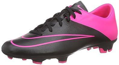 eb8839ef54ebe Nike Men s Mercurial Victory V FG Football Training Shoes Multicolour Size   7.5 UK
