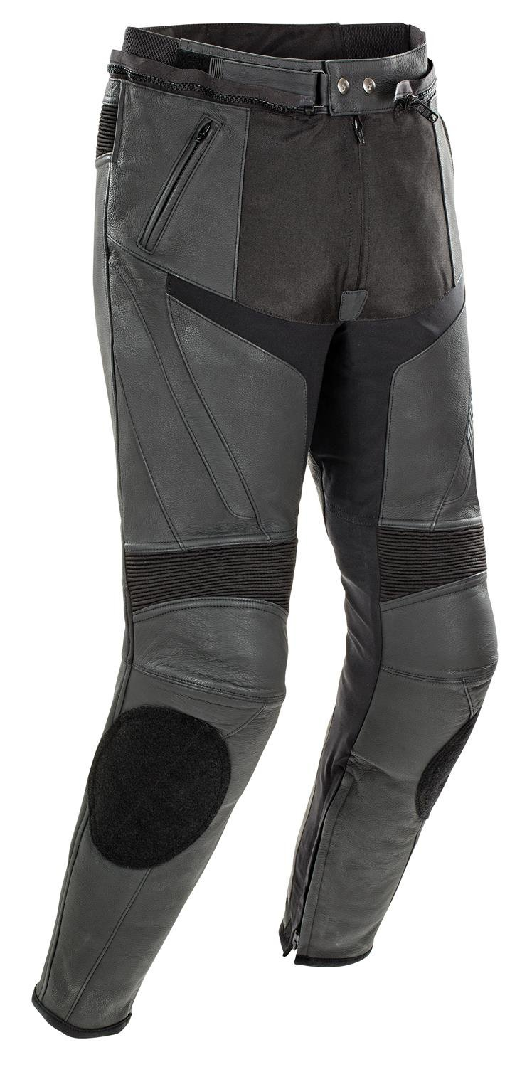 Joe Rocket Stealth Sport Men's Leather Motorcycle Pants (Black, Size 32) by Joe Rocket