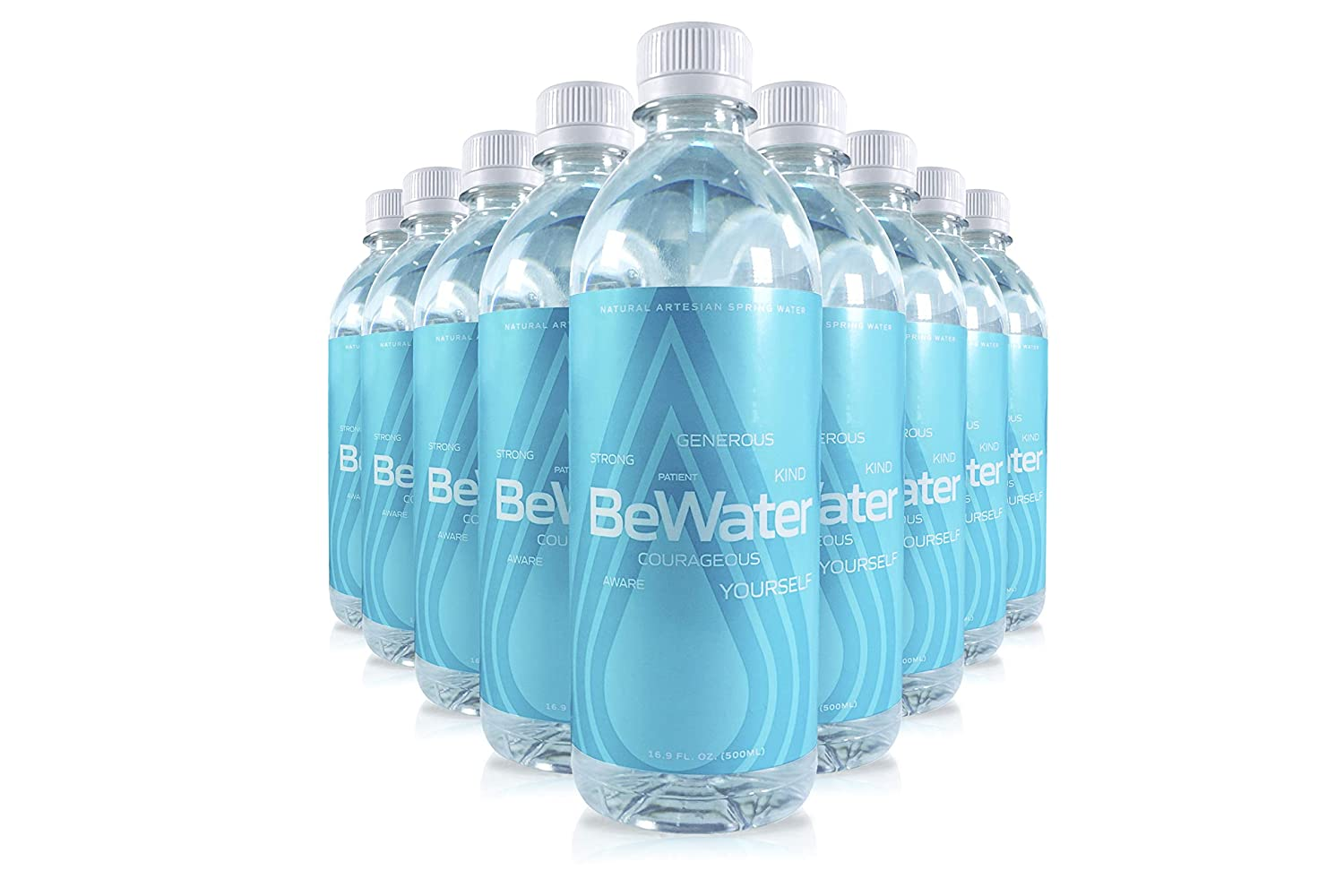 Bewater /'On-the-Go/' Clarity water bottle