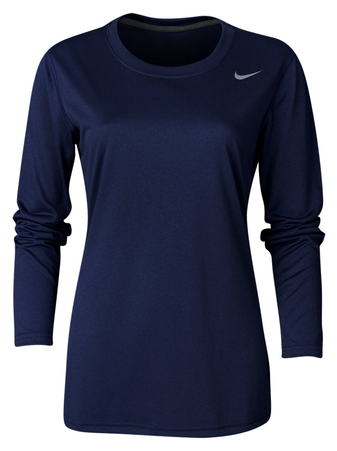 e7f6d0c93d87e Galleon - Nike Womens Dri-Fit Fitness Workout T-Shirt Navy S